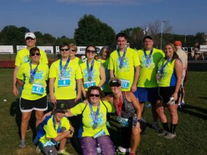 Miltec UV's Run4Shelter Team