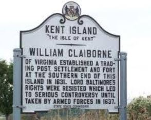 The Third Oldest Settlement_William Claiborne sign