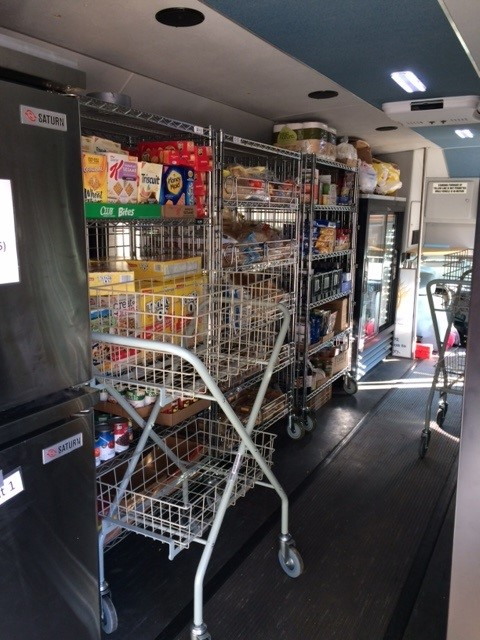 Mobile Food Pantry WAFER