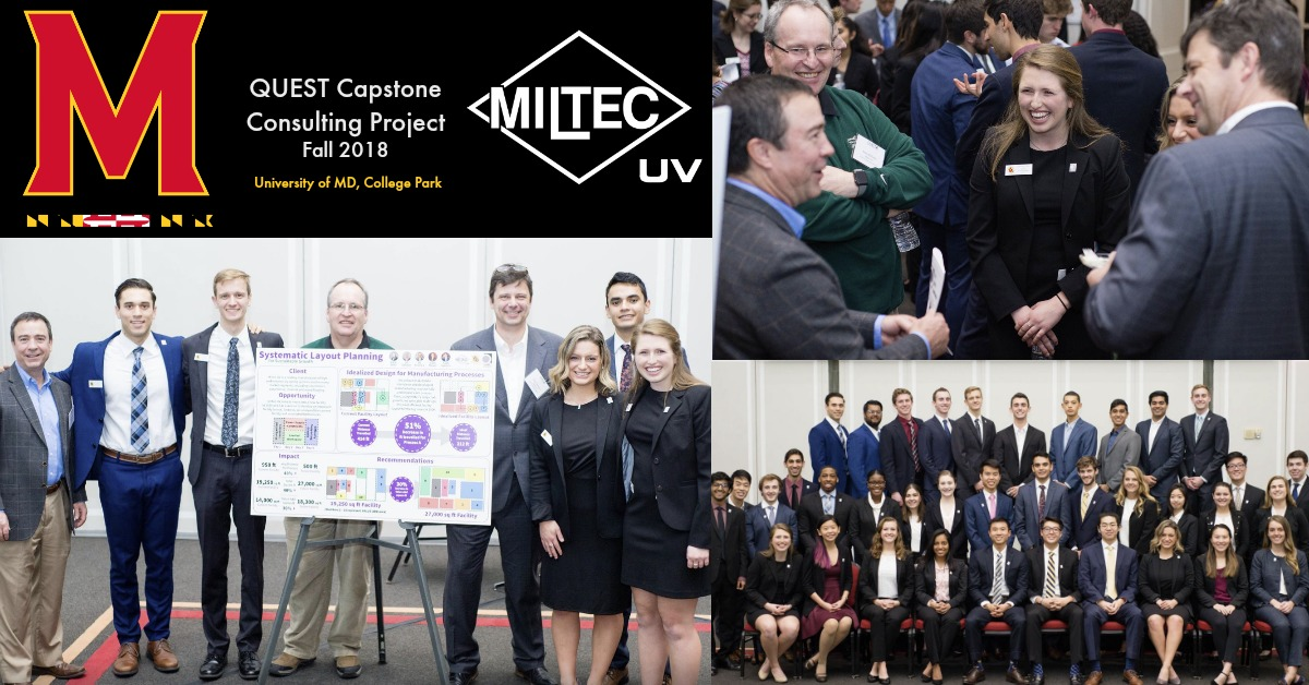 QUEST Capstone Consulting Project Miltec UV