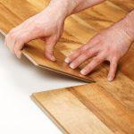 Miltec UV wood flooring