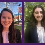 Miltec UV Summer 2020 interns Kaylee Towey and Kelsie Oshinsky